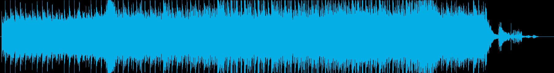 森で聞きたいわくわくするハープメインの曲の再生済みの波形