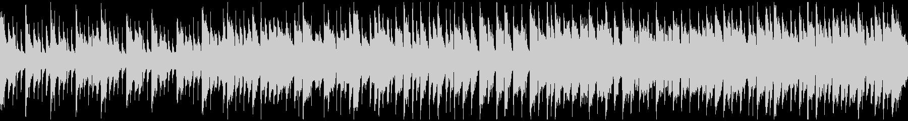 メルヘンチックなリコーダー曲 ※ループ版の未再生の波形