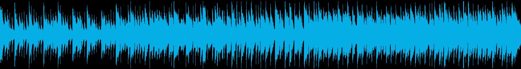 メルヘンチックなリコーダー曲 ※ループ版の再生済みの波形