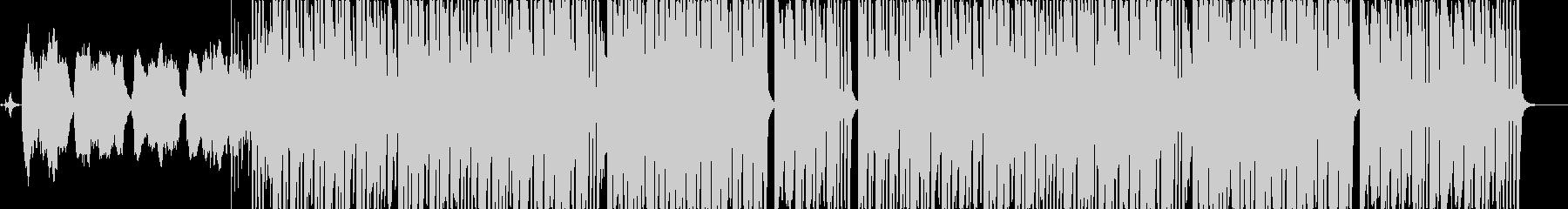 ❸アルプスの山々をのぞむスイス的なBGMの未再生の波形