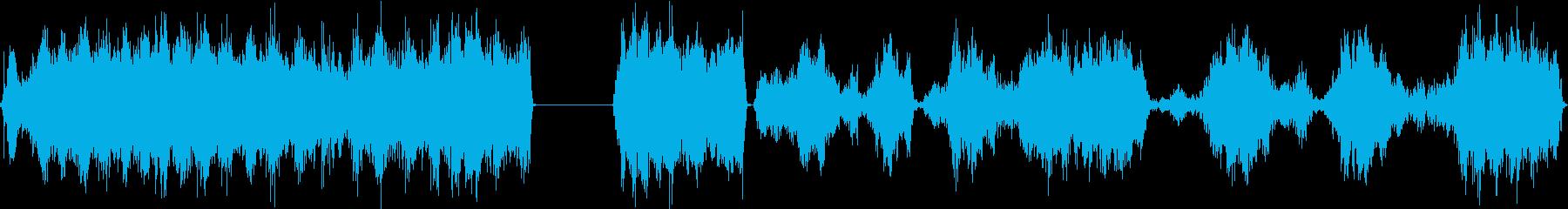 スクリュードライバー、電動、ハンド...の再生済みの波形