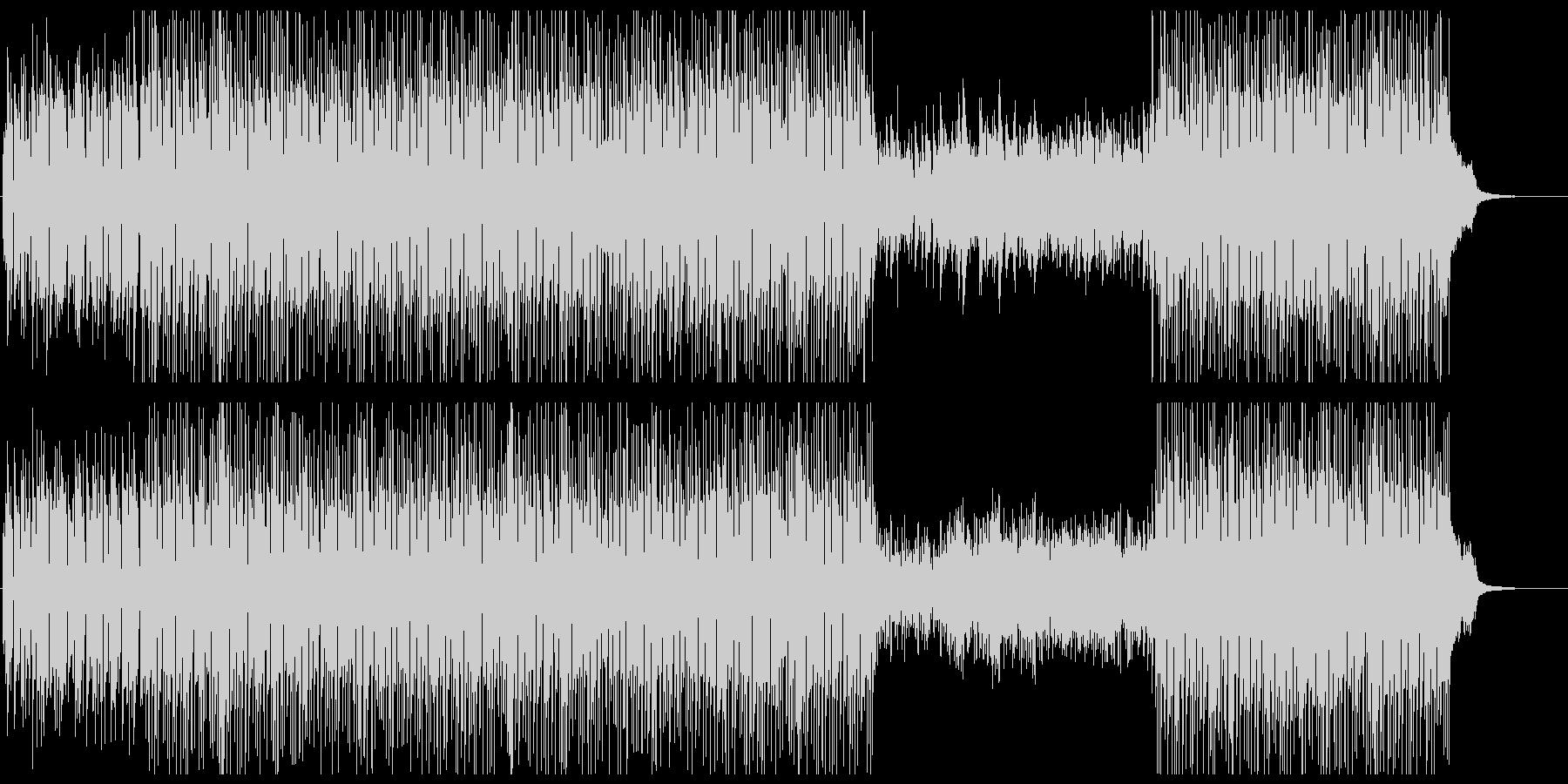 アコースティックな透明感のピアノポップスの未再生の波形