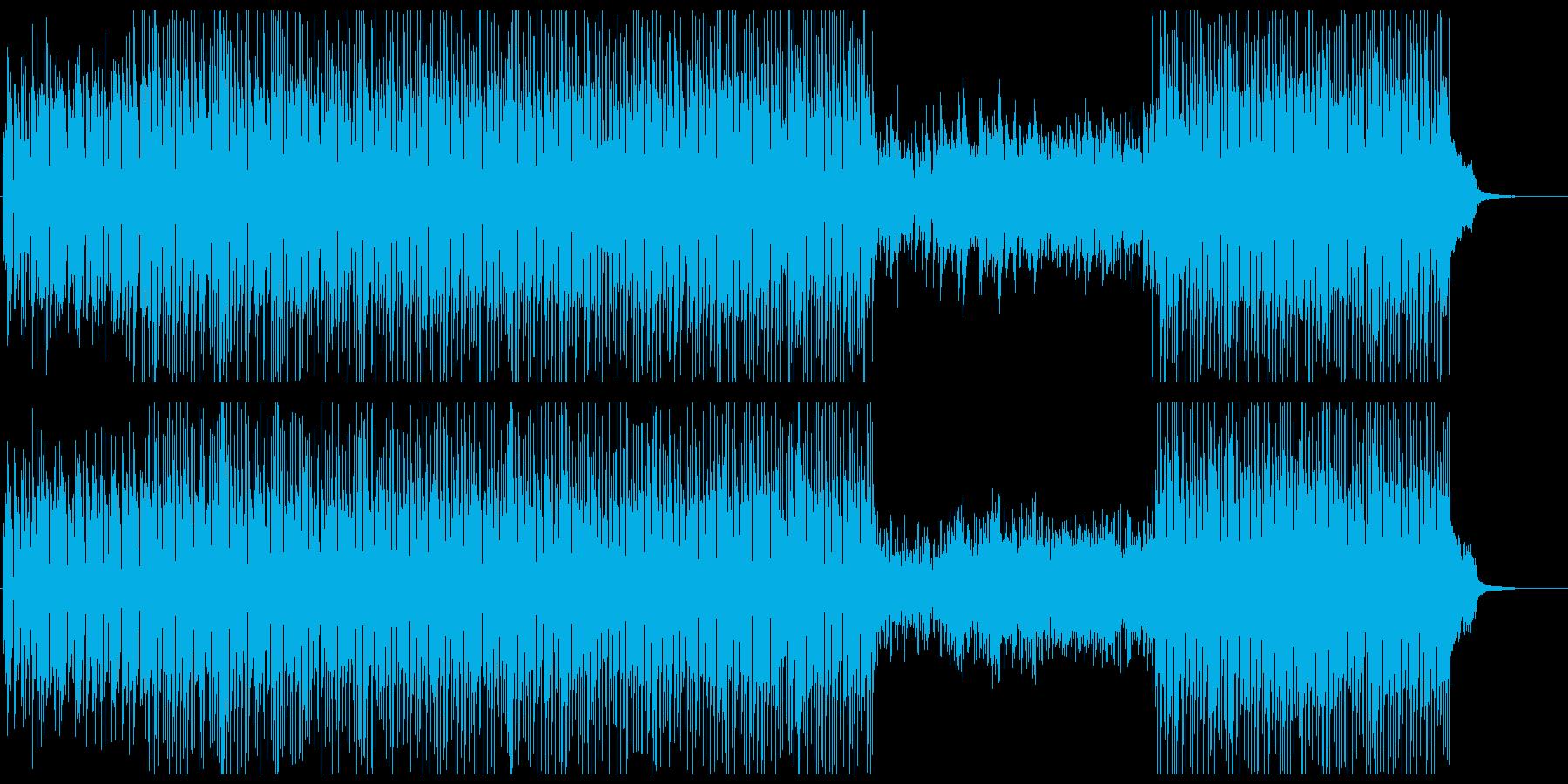 アコースティックな透明感のピアノポップスの再生済みの波形