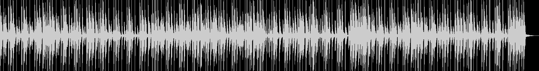 おしゃれでキャッチーなジャズピアノトリオの未再生の波形