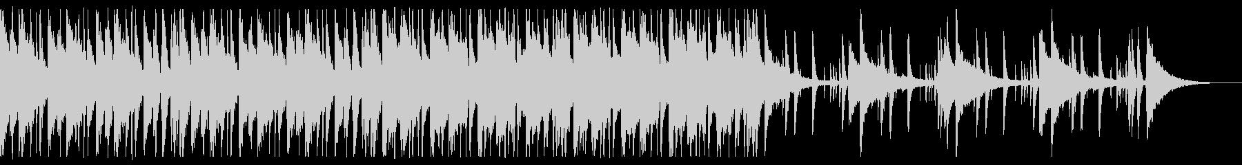 懐かしい雰囲気のチルR&B_5の未再生の波形