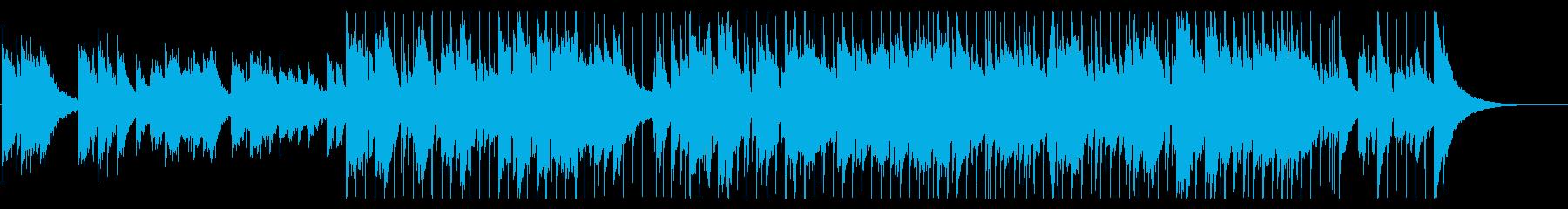 メロディアスで心地よいバラードの再生済みの波形