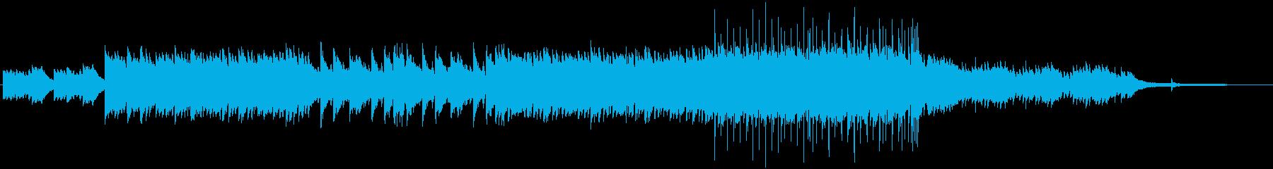 少しの元気の為のヒーリングミュージックの再生済みの波形