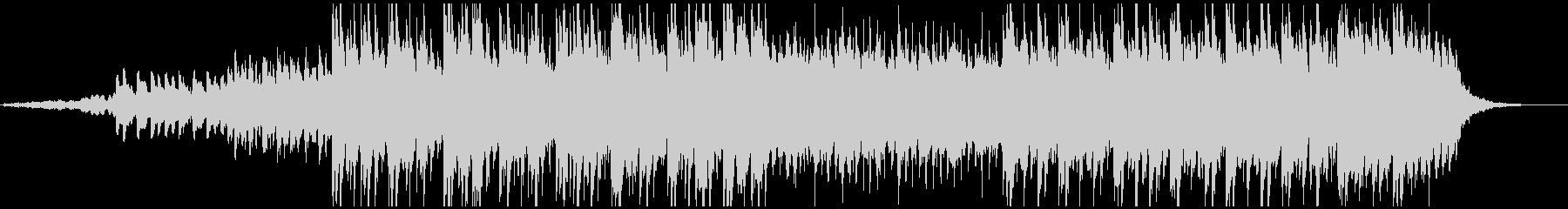 ピアノとシンセ主体の和風アンビエントの未再生の波形