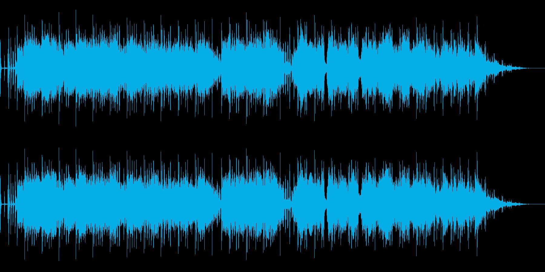 心地よいグルーヴとLo-fiエレピの曲の再生済みの波形
