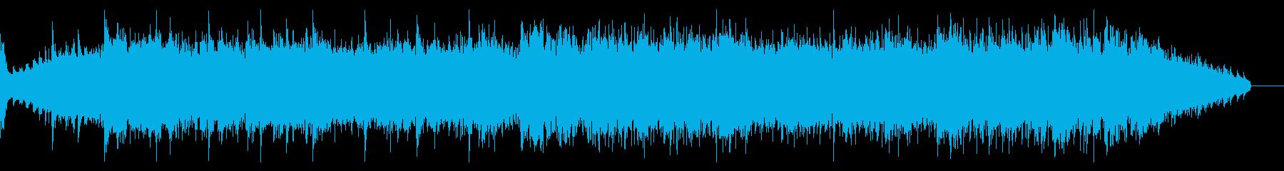 重々しいオーケストラルなアンビエントの再生済みの波形