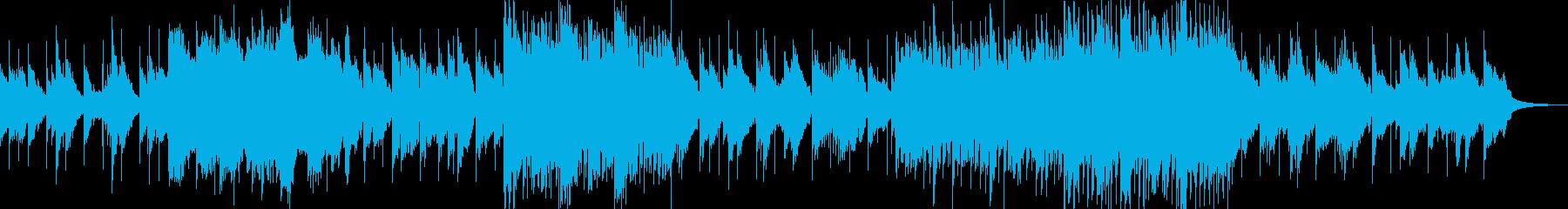 ノスタルジーなメロディの再生済みの波形