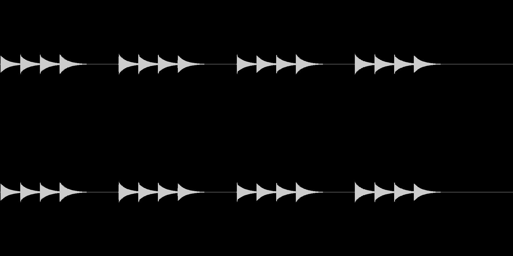 チャイム バス用の未再生の波形