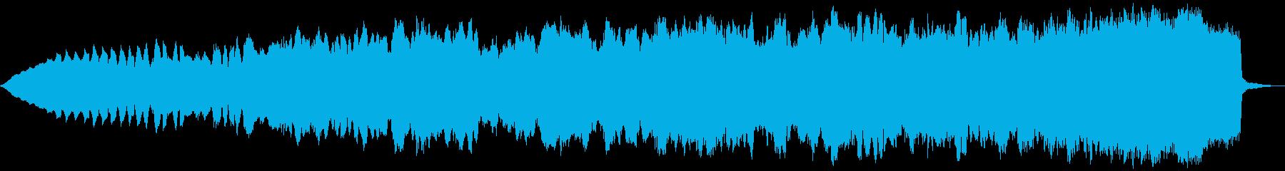 ライブワイヤー:渦巻き模様のエネル...の再生済みの波形