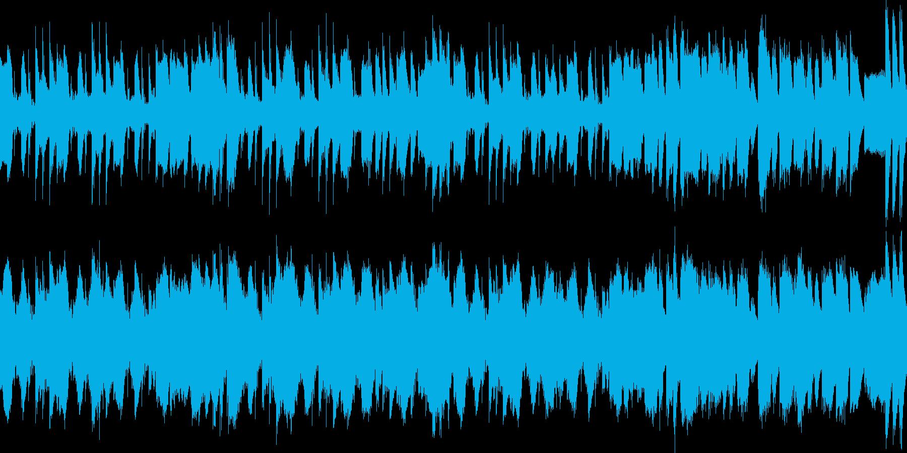 爽やかな行進曲の再生済みの波形