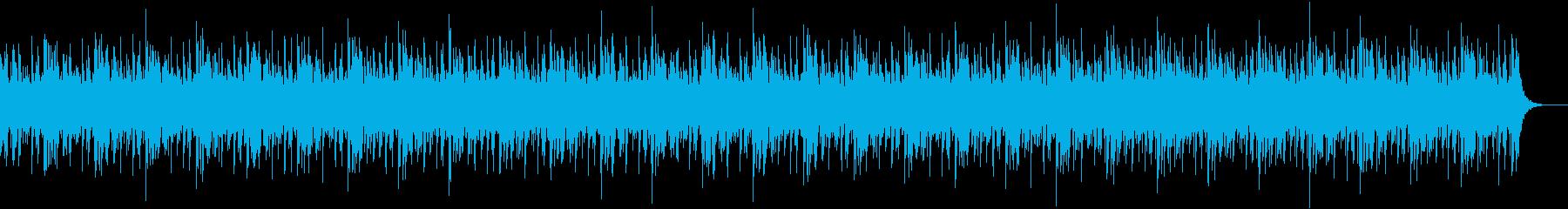 スタイリッシュなオープニングロックの再生済みの波形