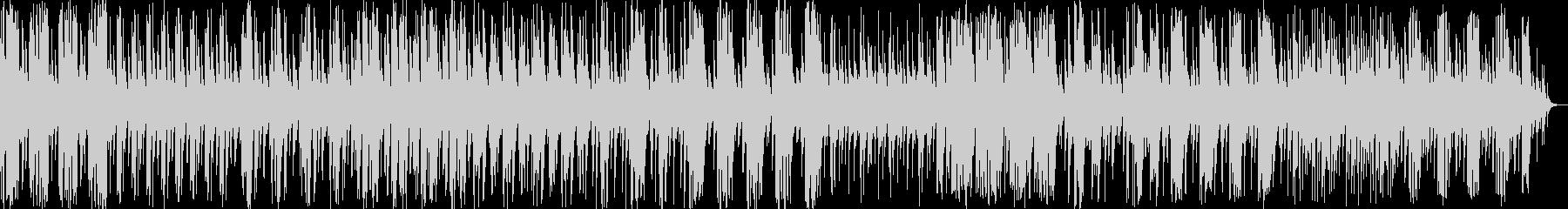 和風料理店に合うような琴の曲3の未再生の波形