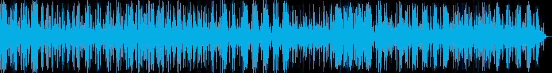 和風料理店に合うような琴の曲3の再生済みの波形