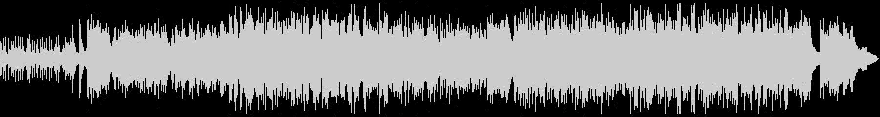 ノスタルジックなトリオ編成のバラードの未再生の波形