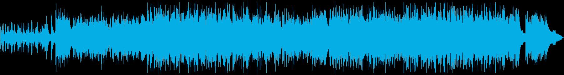 ノスタルジックなトリオ編成のバラードの再生済みの波形