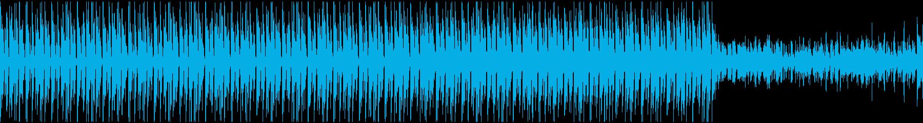 潜入・対峙のシーン/ロック・グランジの再生済みの波形