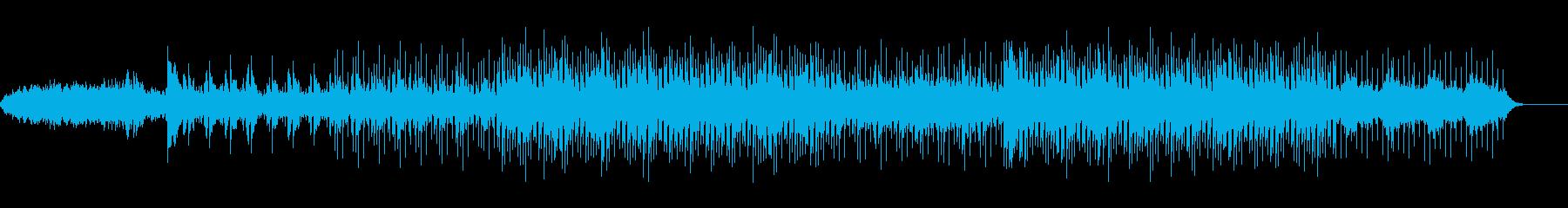 アンビエント環境音楽ヒーリング-02の再生済みの波形