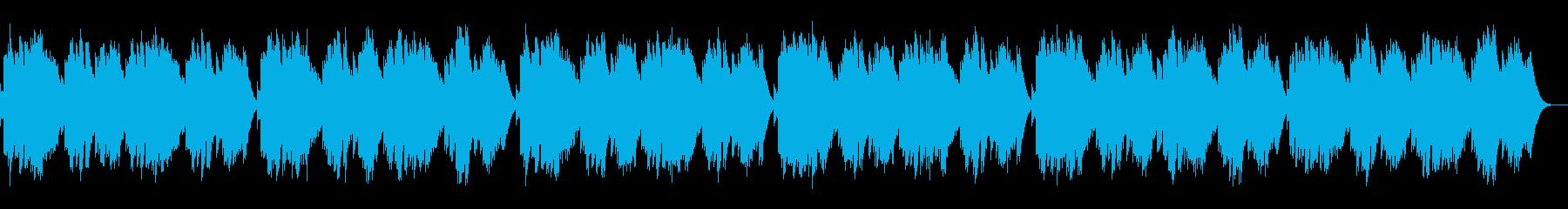 蛍の光 / オルゴール版の再生済みの波形