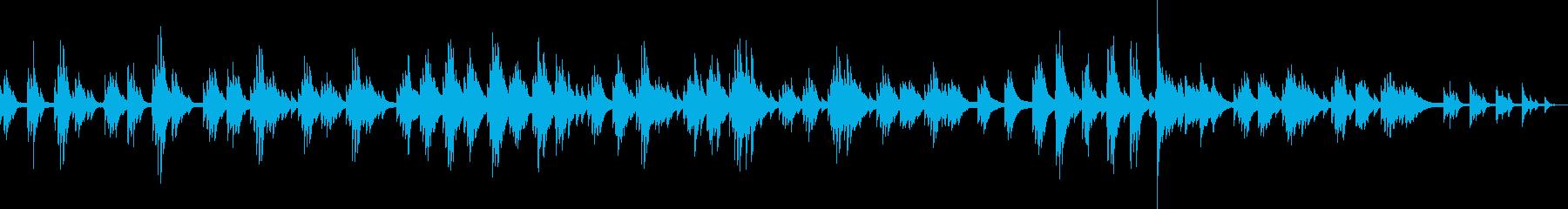しっとり美しいピアノバラード(独奏)の再生済みの波形