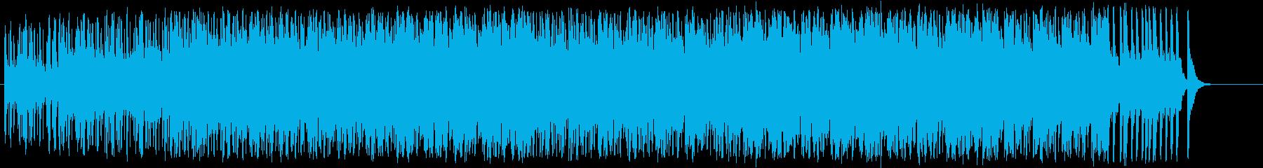 心の焦りを感じるテクノ/BGの再生済みの波形