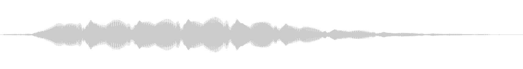 オリエンタルキッチン、メタルゴング...の未再生の波形