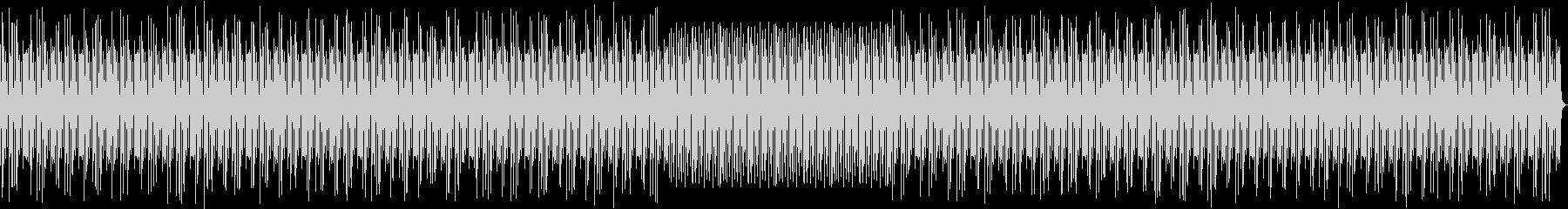シンセベースとリズムボックスのテクノの未再生の波形