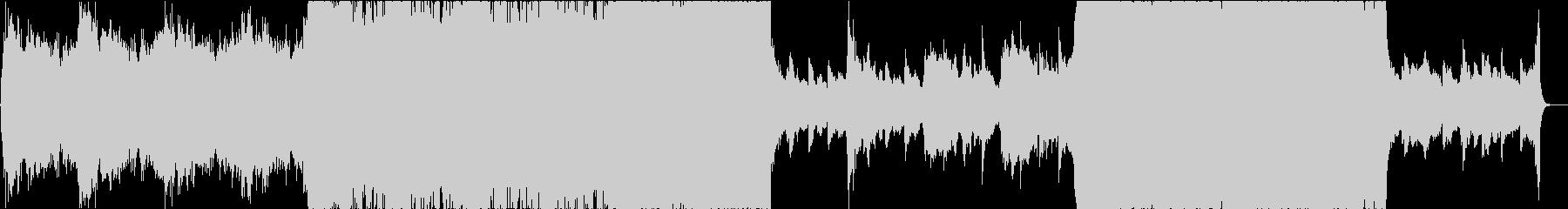 エレクトロポップ、シネマティックの未再生の波形