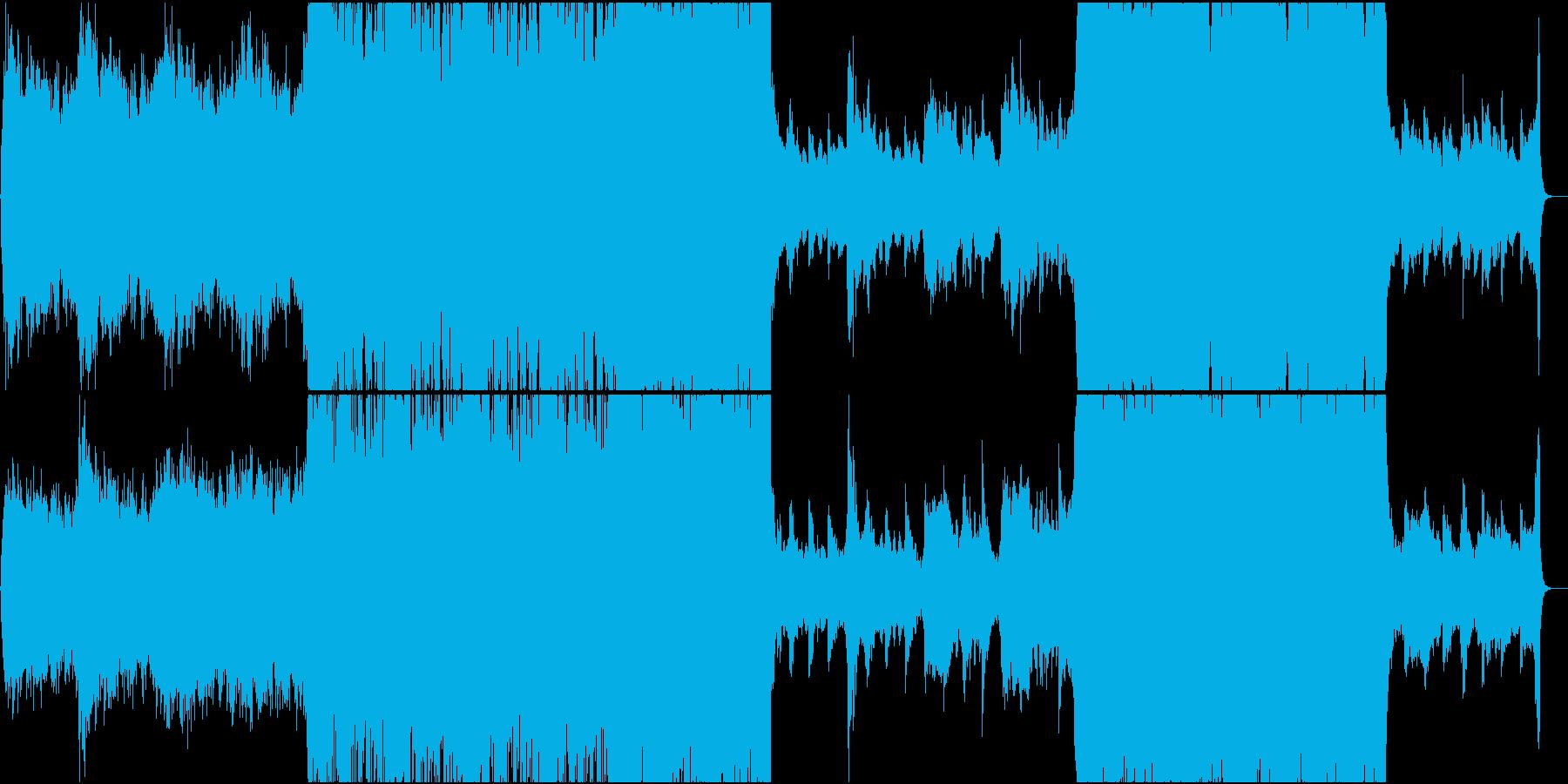 エレクトロポップ、シネマティックの再生済みの波形