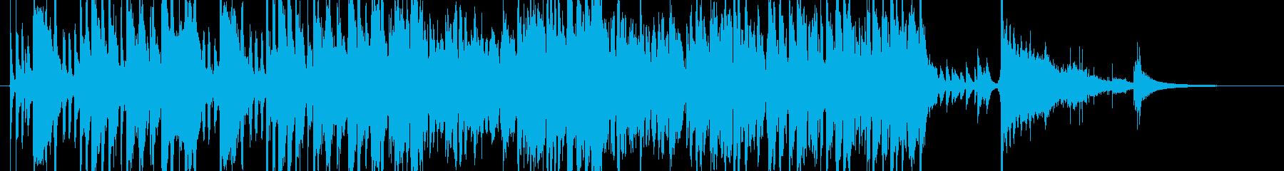 セクシーでカッコいいOPに使えるジャズの再生済みの波形