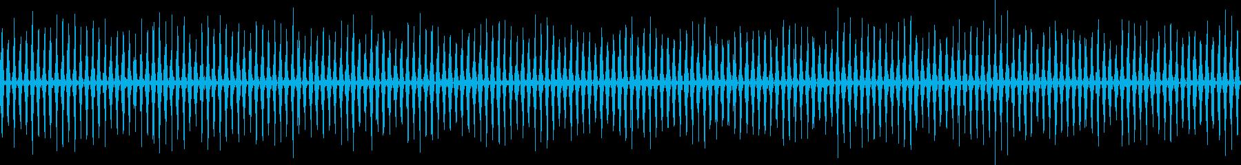 ループ再生可!映画風のヘリコプター効果音の再生済みの波形