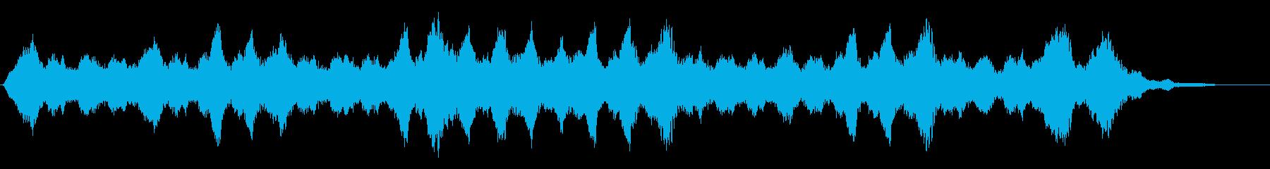 背景音 ホラー 23の再生済みの波形