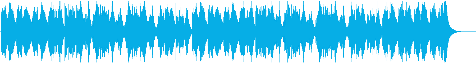 オルゴールによる軽やかなメロディの再生済みの波形