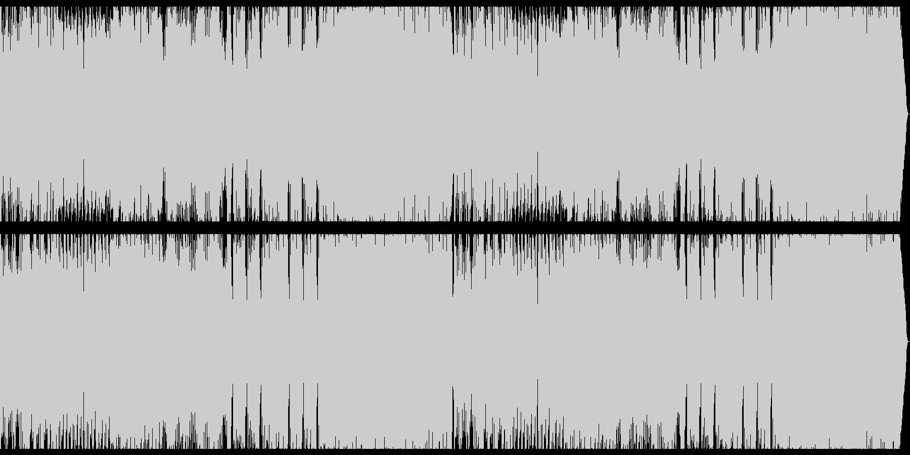 和風+オーケストラ+EDMの未再生の波形