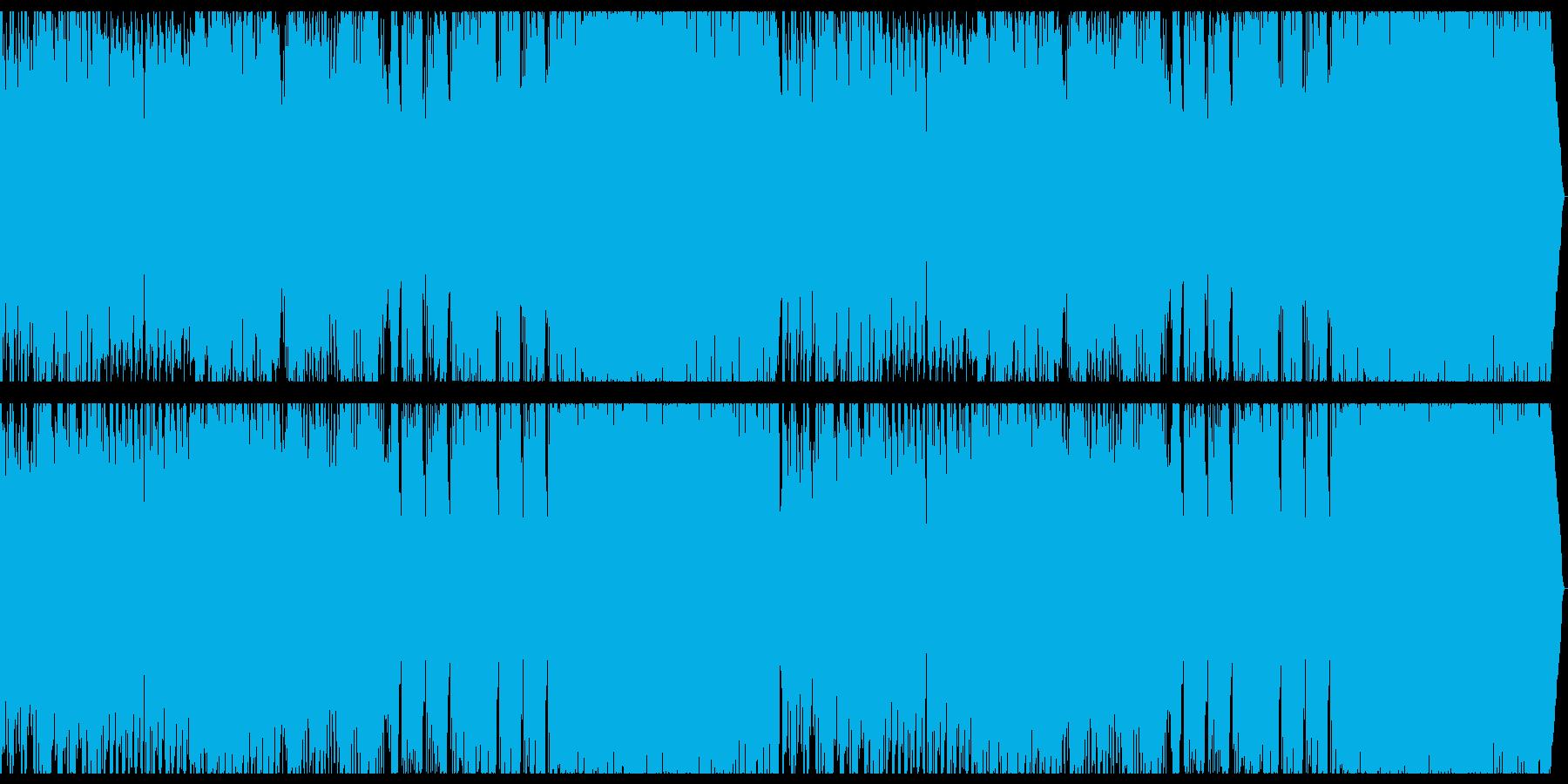 和風+オーケストラ+EDMの再生済みの波形