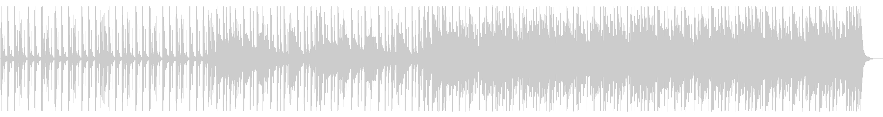 賑やかしくポップなBGM_No617_3の未再生の波形