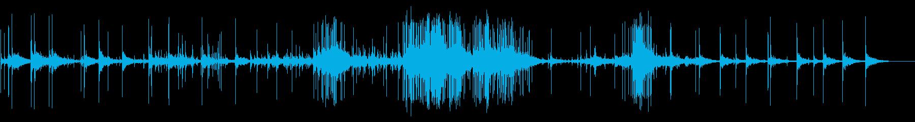 花火、大、遠距離、バージョン1; ...の再生済みの波形