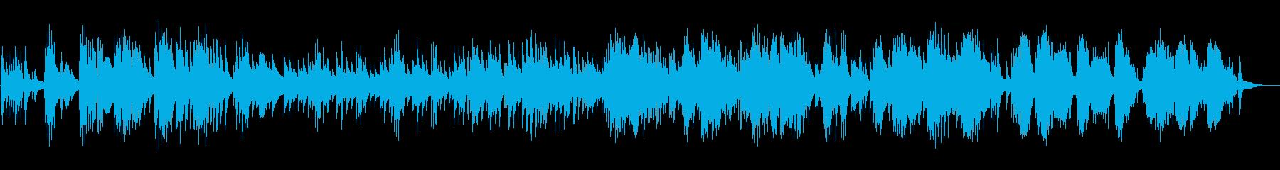雨の日のイメージ・のんびりなピアノ即興の再生済みの波形