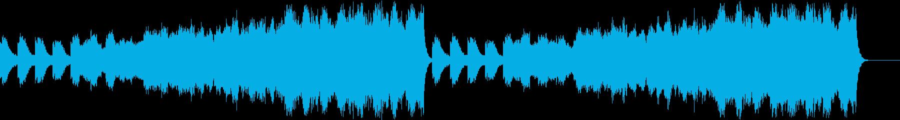 ピアノ+二胡+ストリングス 壮大、悲しいの再生済みの波形