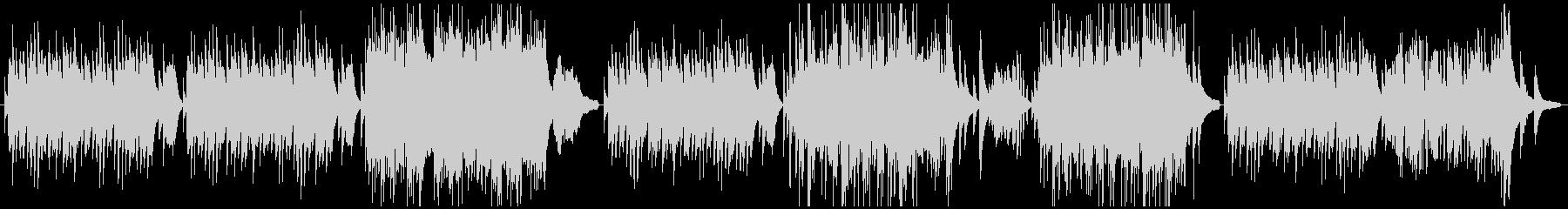 ピアノ名曲「花の歌」ランゲの未再生の波形