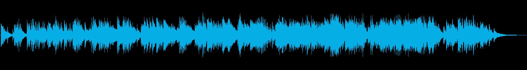 優しい絵本のBGMのようなピアノソロの再生済みの波形