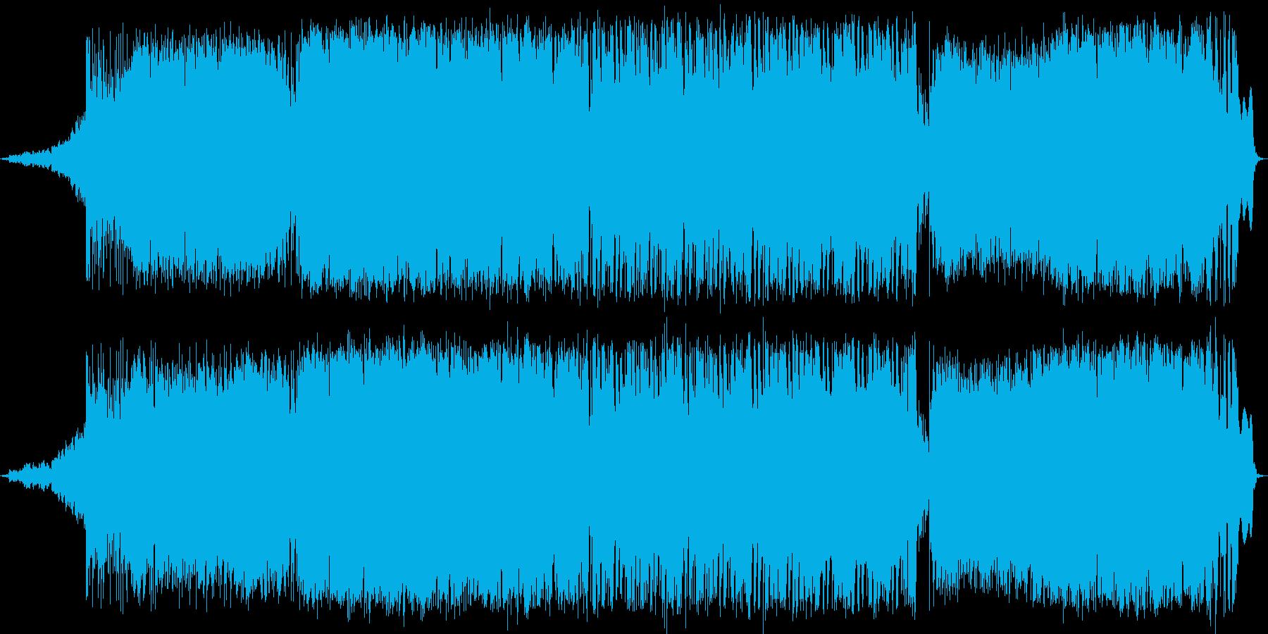動画 センチメンタル 感情的 環境...の再生済みの波形