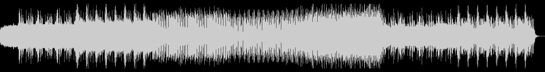 シンプルなアルペジオのテクノ06の未再生の波形