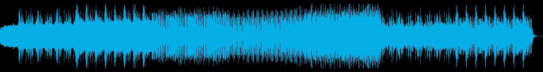シンプルなアルペジオのテクノ06の再生済みの波形