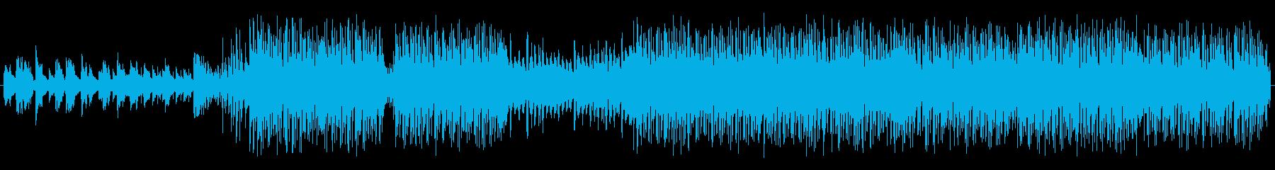 超個性的!EDM,HIPHOP,レゲトンの再生済みの波形