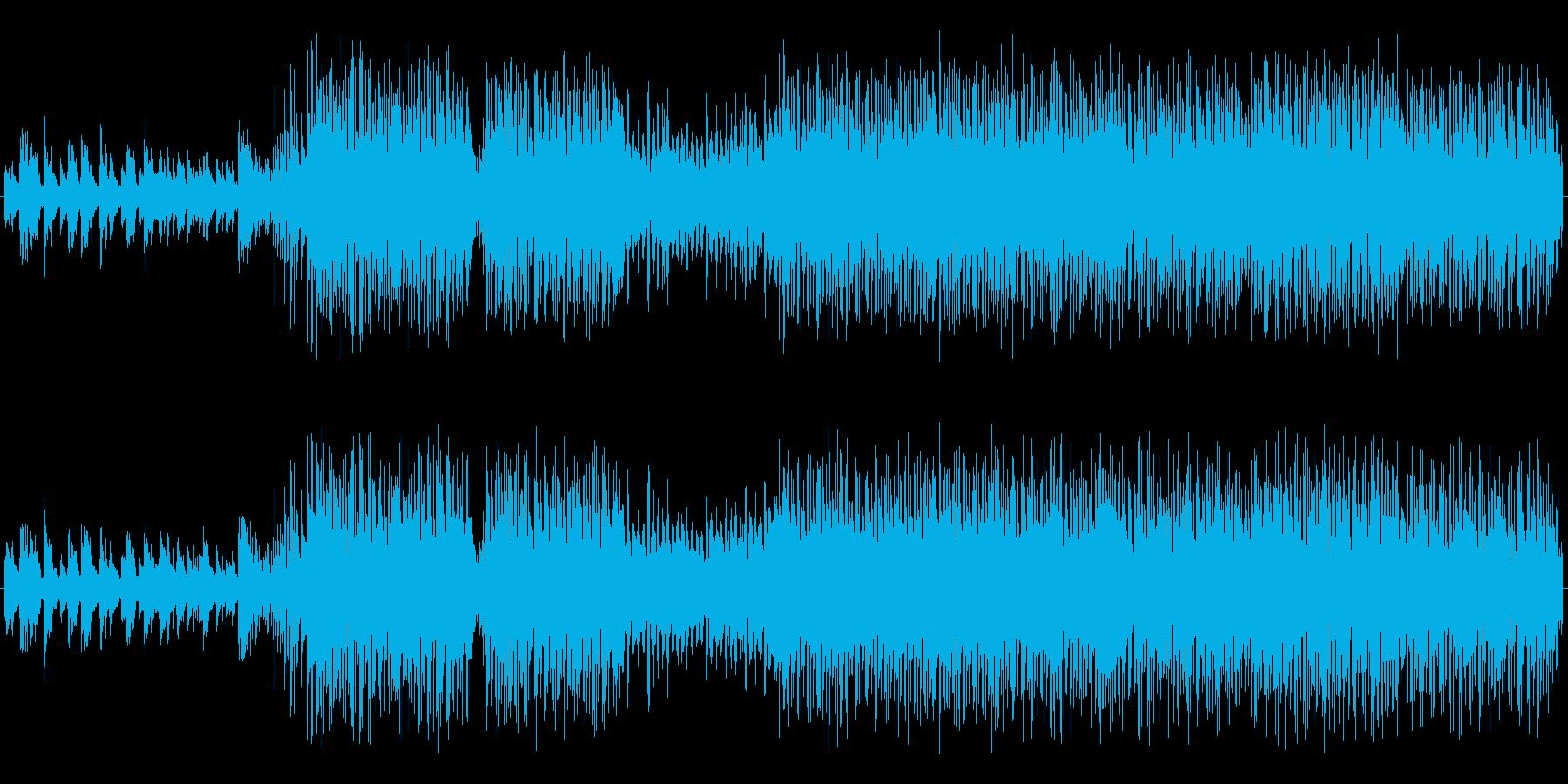 個性的!EDM,HIPHOP,レゲトンの再生済みの波形