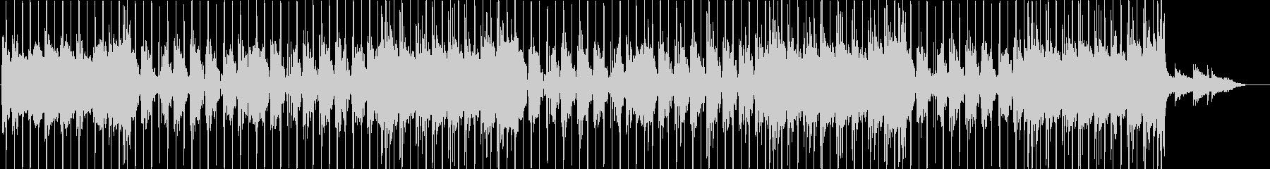 洋楽、チルアウト、R&Bビート♫の未再生の波形